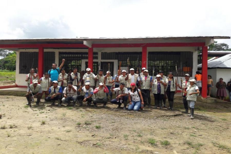 Guardia Indígena del Cabildo Kichwa Alto Naporuna - Puerto Leguizamo