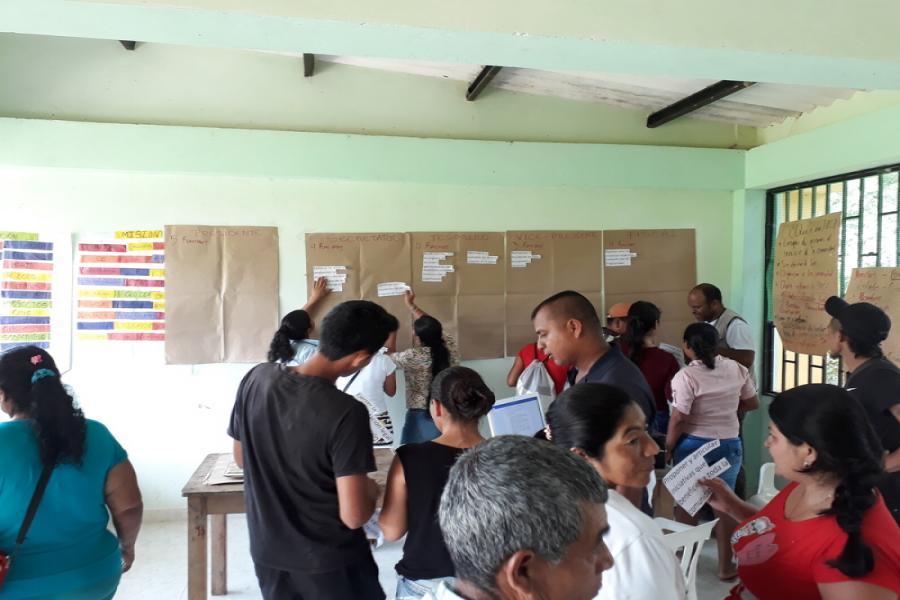 Taller funciones Junta Directiva - JACs Santa Marta y Risaralda - San Miguel